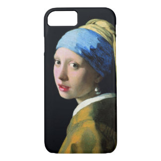 Jan Vermeer Girl With A Pearl Earring iPhone 7 Case