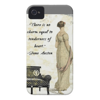Jane Austen Regency Inspired Design iPhone 4 Cover