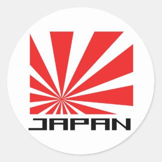 Japan Cool Design! Round Sticker