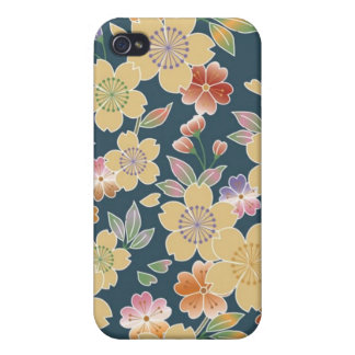 Japan Sakura Kimono Origami Japanese Flower iPhone 4/4S Covers