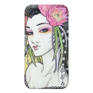 Japanese Geisha 8 Asian Kimono Anime Case For The iPhone 4