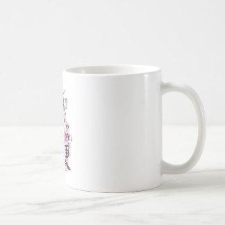 Japanese Geisha Basic White Mug