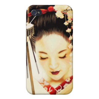 Japanese Kimono Geisha 8 Asian iPhone 4/4S Case