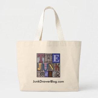 JDLogo, JunkDrawerBlog.com Jumbo Tote Bag