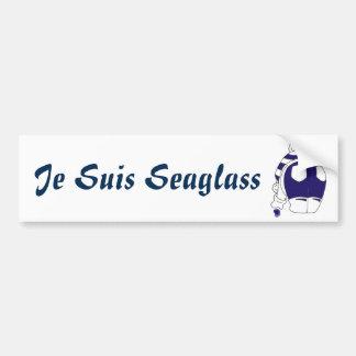 Je Suis Seaglass Bumper Sticker