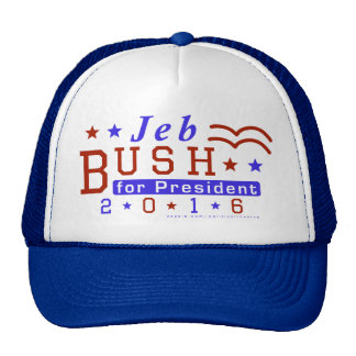 Jeb Bush President 2016 Election Republican Cap