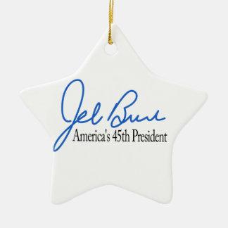 Jeb Bush Presidential Candidate 2016 Ceramic Star Decoration