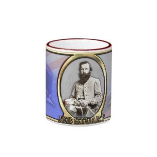 JEB Stuart Civil War Ringer Mug