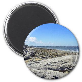 Jekyll View 6 Cm Round Magnet