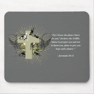 JEREMIAH 29:11 Bible Verse Mouse Pad