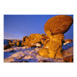 Jerusalem Rocks in Winter near Sweetgrass Photograph
