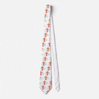 Jesus Fish & Cross Tie,  Perfect Christian Gift Tie