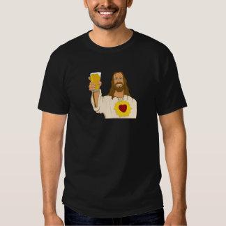 Jesus Loves Beer Tee Shirt