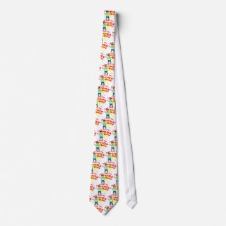 Jesus loves you this much Christian gift design Tie