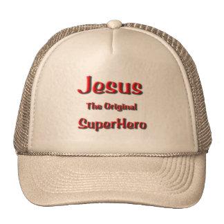 Jesus Super Hero Cap