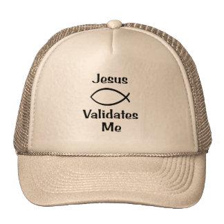 Jesus Validates Me Cap