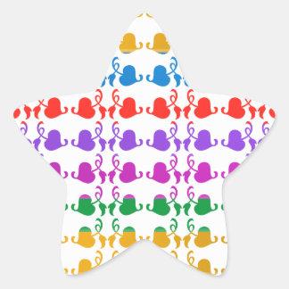 Jewels Hedera: Babysoft Color Pattern Star Sticker