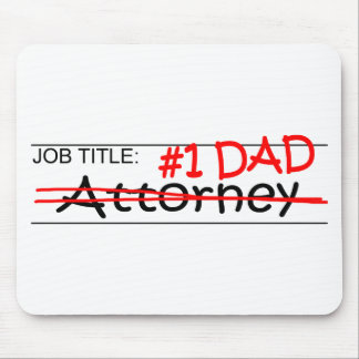 Job Dad Attorney Mouse Pad