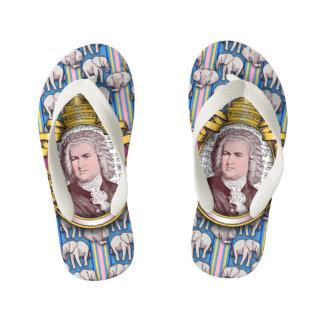 Johann Sebastian BACH Flip Flops