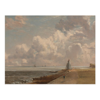 John Constable - Harwich - The Low Lighthouse Postcard