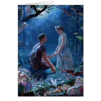 John Simmons: A Midsummer Night's Dream Greeting Card