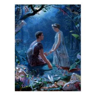 John Simmons: A Midsummer Night's Dream Postcard
