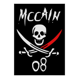 Jolly McCAIN 08 {Blood Tip} Poster