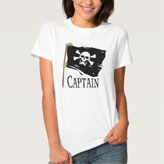 Jolly Roger Captain Tshirt