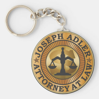 Joseph Adler Attorney at Law mike judge extract Basic Round Button Key Ring