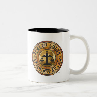 Joseph Adler Attorney at Law mike judge extract Two-Tone Mug