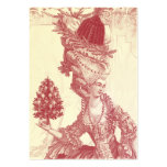 Joyeux Noel (rouge)  Ivory Festive Gift Tag Pack Of Chubby Business Cards