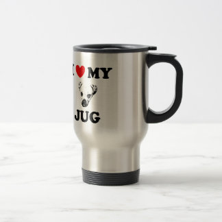 jug dog stainless steel travel mug