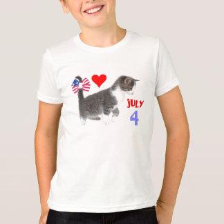 July 4th Kitten Shirts