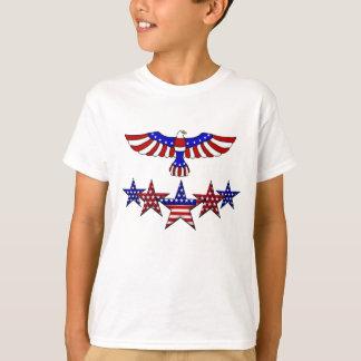July Fourth Patriotic preteen t-shirt