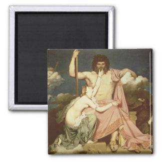 Jupiter and Thetis, 1811 Square Magnet