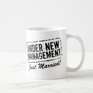 Just married coffee mug   Under new management