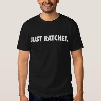 Just Ratchet just black T-shirt