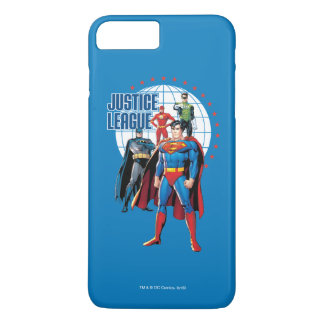 Justice League Global Heroes iPhone 7 Plus Case