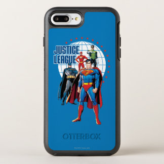 Justice League Global Heroes OtterBox Symmetry iPhone 7 Plus Case