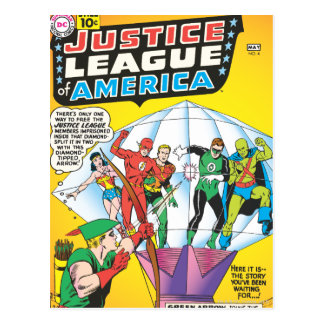 Justice League of America Issue #4 - May Postcard