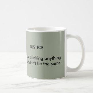 Justice mug