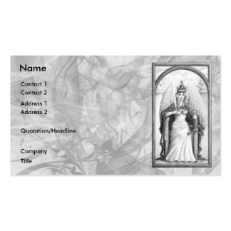 Justice Pack Of Standard Business Cards