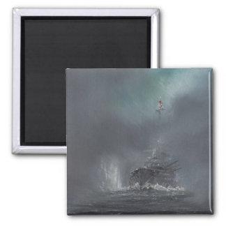 Jutland 1916 2014 2 square magnet
