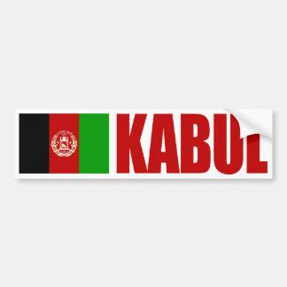 Kabul, Afghanistan Flag Bumper Sticker