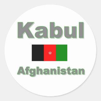Kabul Round Sticker