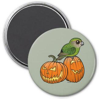 Kakapo Halloween 7.5 Cm Round Magnet