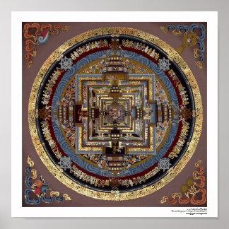 Kalachakra Mandala A Poster