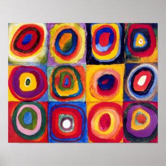 Kandinsky Concentric Circles Fine Art Poster