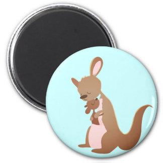 Kanga Love 6 Cm Round Magnet