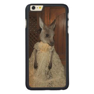 Kangaroo Joey Carved® Maple iPhone 6 Plus Case